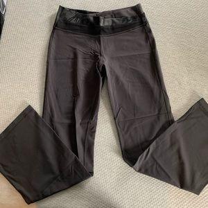 Gray Lululemon full length tights
